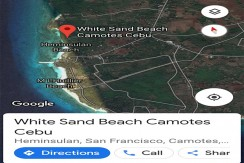 BEACH LOT FOR SALE IN CAMOTES ISLAND